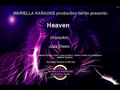 Jack Owen  - Heaven (Karaoke Version)