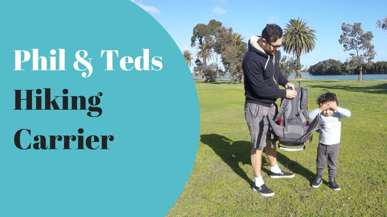 Phil Teds Escape Hiking Carrier Product Review Demonstration