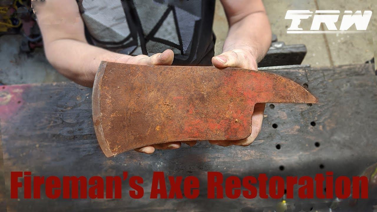 Fireman's Axe Restoration