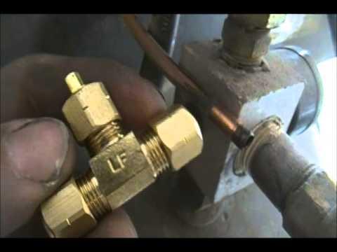 Harbor Freight Auto Compressor Drain Install Youtube