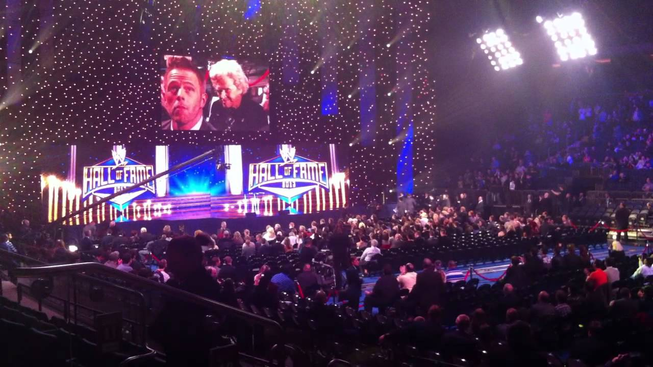 WWE Hall of Fame 2013 introductions (Part 3) - YouTube