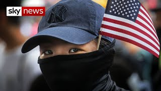 Trumps signs bill supporting Hong Kong protesters