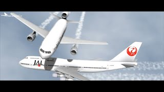 FS2004 - Terror Over Shizouka (2001 Japan Airlines Mid-Air Incident)