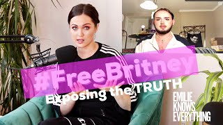 Exposing the TRUTH oḟ Britney Spears, Interview with #FreeBritney expert Moonwalk Mars