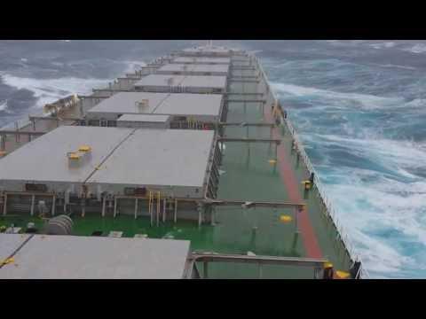 12 beaufort in Pacific Οcean - Storm