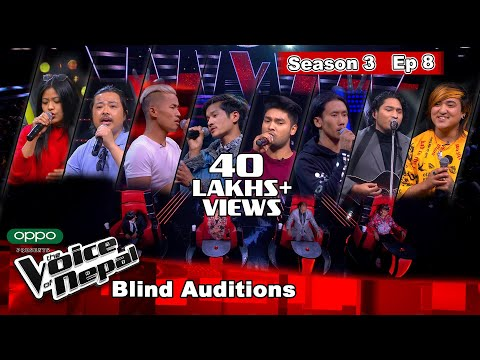 The Voice of Nepal Season 3 - 2021 - Episode 8
