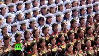 Реальная Северная Корея: со школьной скамьи –  в военном строю
