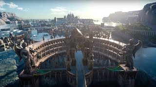 Final Fantasy 15 - Official World of Wonder: Environment Footage
