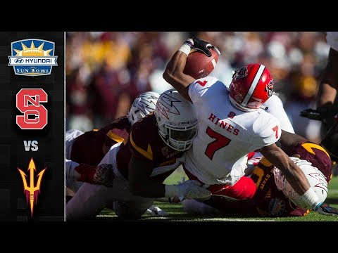 NC State vs. Arizona State Sun Bowl Highlights (2017)