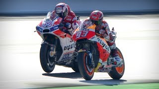 Best overtakes from 2017 in MotoGP™