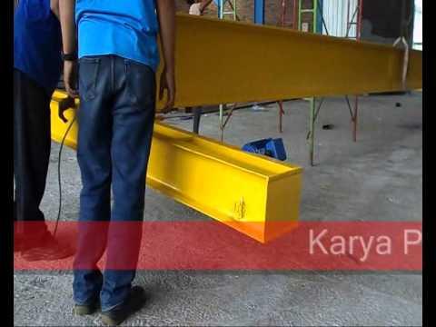 Proses Instalasi / Erection Overhead Crane 5 Ton [Manual]
