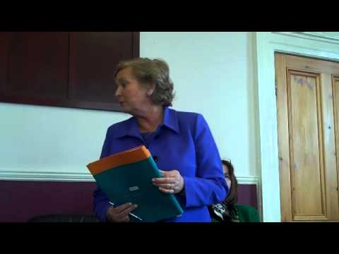 Minister Frances Fitzgerald Addresses Ladies In Business All
