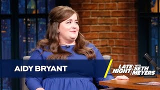 Aidy Bryant Thought Her Proposal Was a Joke by : Late Night with Seth Meyers