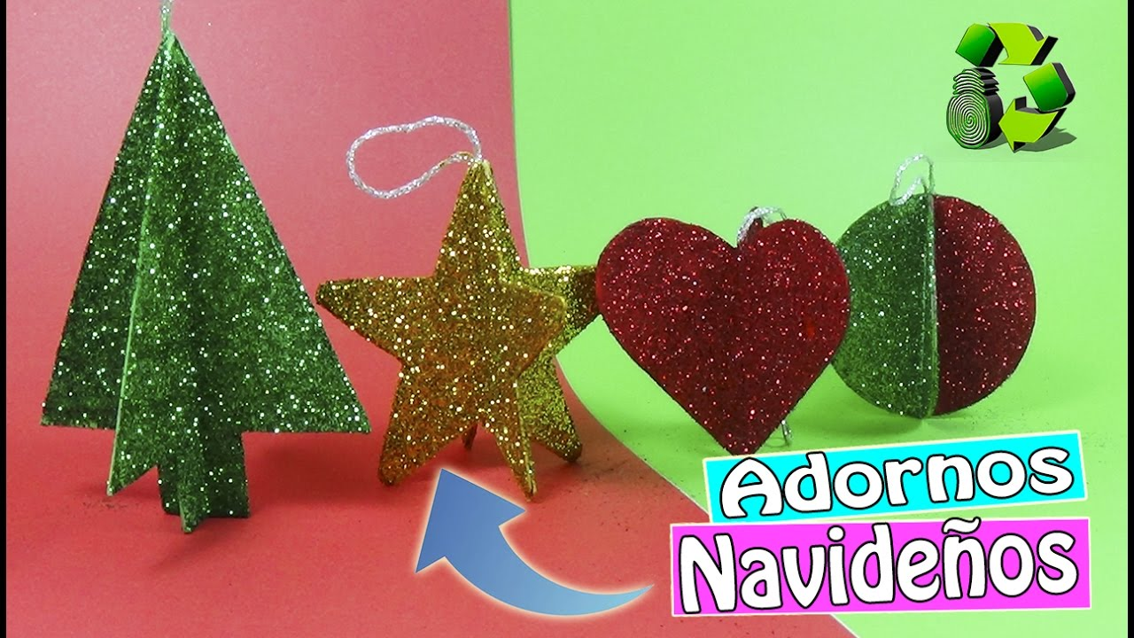 Adornos navide os con cajas de cereales 3 ideas for Decoraciones de navidad para hacer en casa