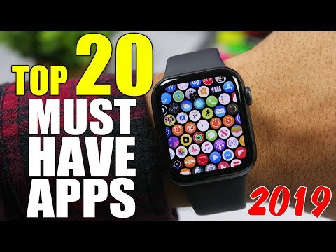 Top 20 MUST HAVE Apple Watch Apps - 2019