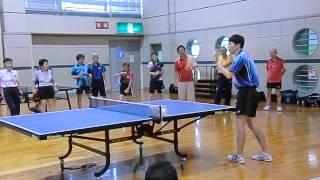 卓球研究会 #5ロングサービスや相手からの返球後の構える位置など