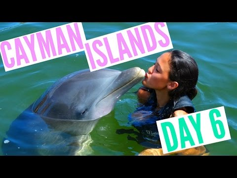 Cayman Islands Day 6 !! || SWIMMING WITH DOLPHINS