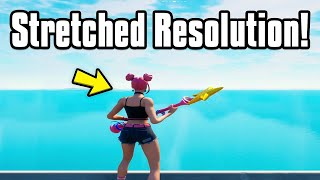 How To Get Strętch Res And Fix Fullscreen Glitch/Bug! (FPS Boost Resolution) Chapter 2 Season 5!