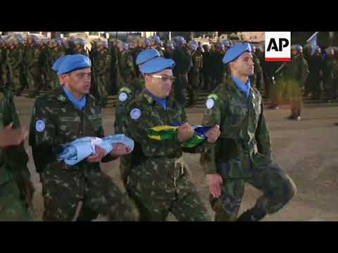 MINUSTAH troops close Haiti peacekeeping mission