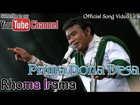 Rhoma Irama - Primadona Desa Official Song Video Lirik