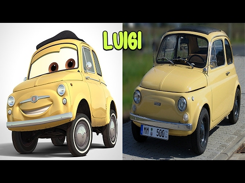 Cars Characters In Real Life Youtube