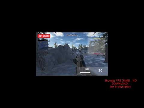 Soldier Combat Trainig Browser FPS MMO GAME(2017) _ NO DOWNLOAD !