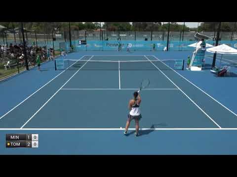 Minokoshi Mai v Tomic Sara - 2017 ITF Bendigo