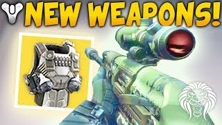 Destiny 2: NEW WEAPONS & ABILITIES! Armamentarium Perk, Nightstalker Grenade, Foundries & Map Remake