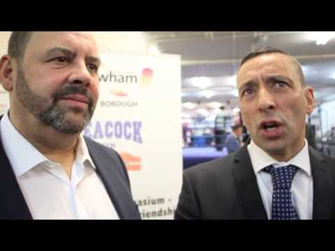 TONY & MARTIN BOWERS ON THE REDEVELOPMENT OF CANNING TOWN AND THE PEACOCK GYM - INTERVIEW