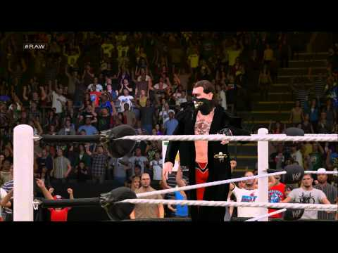 WWE2K15 (PC) Judge Jack (CaW) Entrance + Signature/finishers