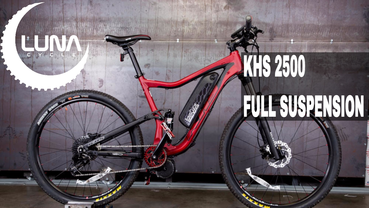 cf266f8cf45 Luna Cycle BBSHD KHS 2500 Mid drive full suspension Mountain Ebike ...