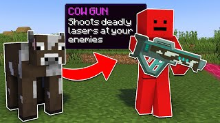 Minecraft Manhunt, But You Can Turn Mobs Into Weapons...