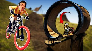 THIS BIKE TRAIL IS INSANE!! (Descenders)