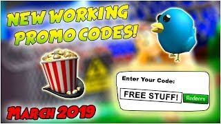 *NEW* ALL WORKING PROMO CODES IN ROBLOX MARCH 2019