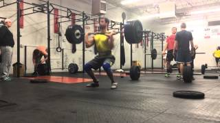 Gambar cover 275 lb clean at crossfit AZO by Vadim Guchinskiy