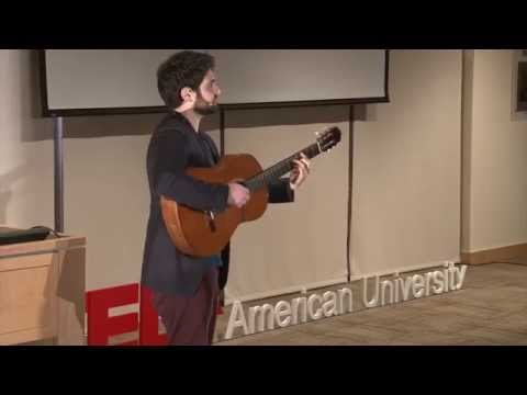 The power of music to transform conflict: Aaron Shneyer at TEDxAmericanUniversity