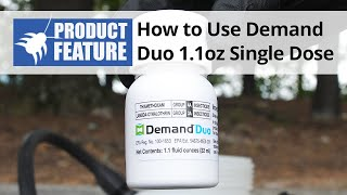 How to Use Demand Duo Insecticide