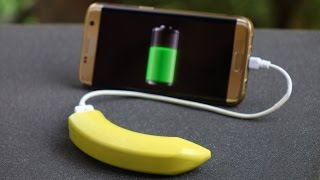 Charge your Cell phone using Banana Power Bank