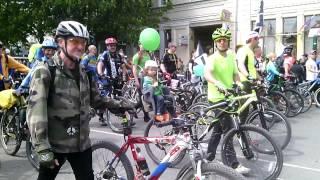 Парад на 1мая велосипедисты Симферополя.(Симферополь 1 мая праздничное шествие. Велосипедисты Симферополя., 2015-05-01T11:06:23.000Z)