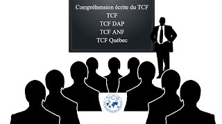 【TCF blanc 2016-2017】 Compréhension écrite du TCF  (TCF - TCF DAP - TCF ANF - TCF Québec)