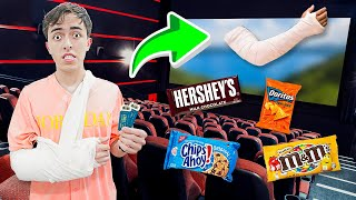 5 Ways to Sneak Snacks into the Movies! (LIFE HACKS)