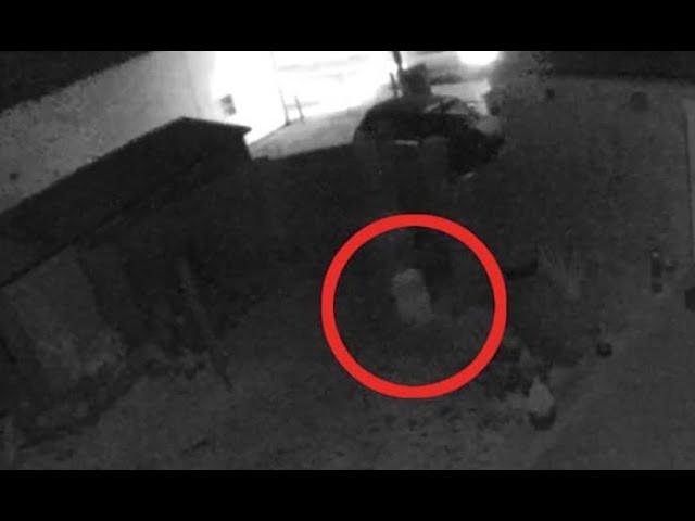 Cámara de seguridad graba el fantasma de un niño corriendo por el jardín de una casa en Inglaterra