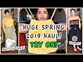 HUGE SPRING 2019 HAUL / TRY ON HAUL / TARGET & AMERICAN EAGLE (AFFORDABLE) #SPRINGTRYONHAUL