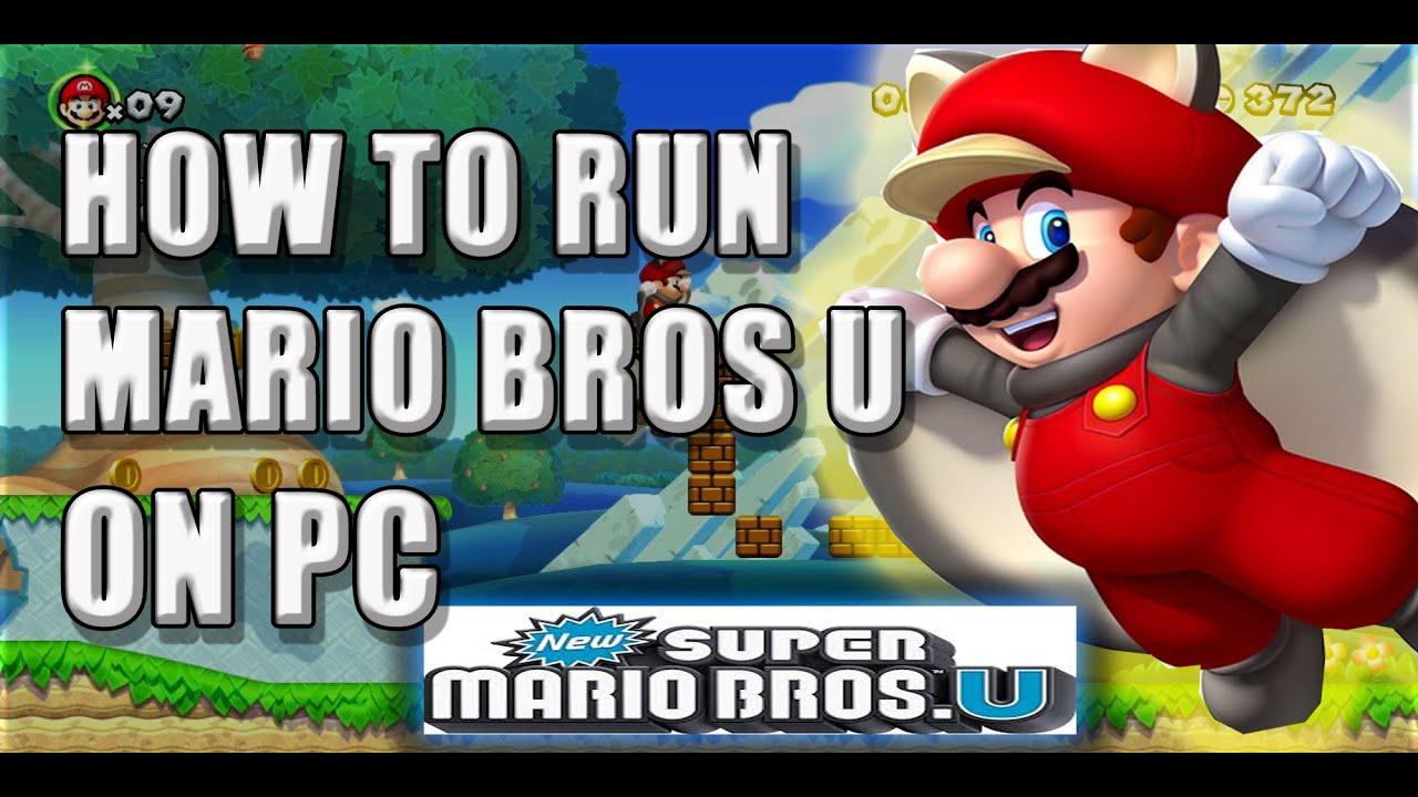 ★How to run Super Mario Bros U on PC★ CEMU Complete Tutorial★ Plus Crash Fix