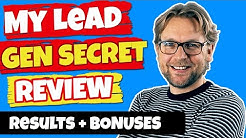 My Lead Gen Secret Review - My results  - Part 1