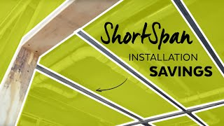 ShortSpan Installation Savings | Armstrong Ceiling Solutions