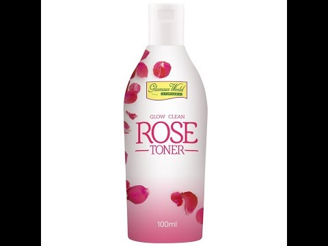 GLAMOUR WORLD Glow Clean Rose Toner -100-ml Review