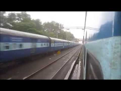 New Delhi-Bangalore 2,400 Km Journey Part I: Legendary Karnataka Express