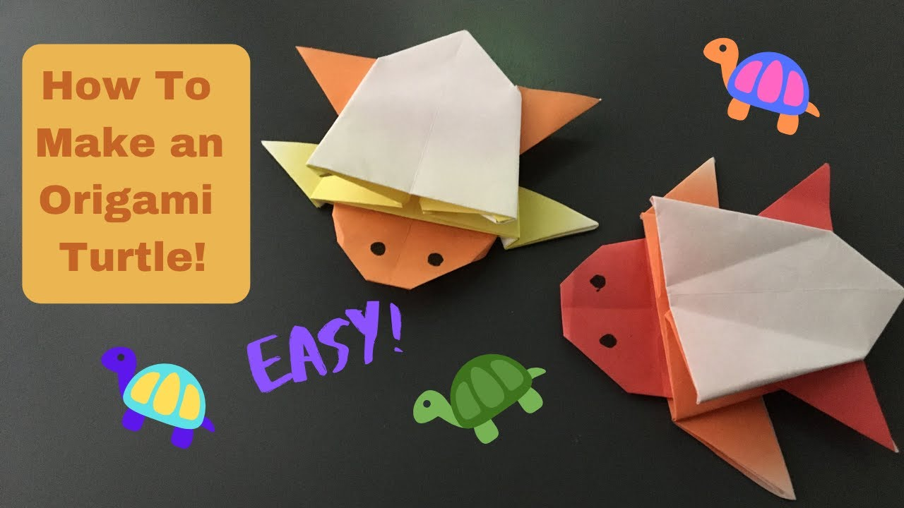 Origami Turtle (Robert J. Lang) - YouTube | 720x1280
