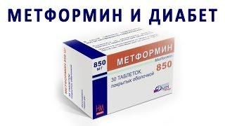Сахароснижающие таблетки Метформин